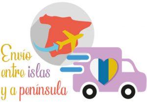 Mi mundo shop hace envío entre islas y al resto de España
